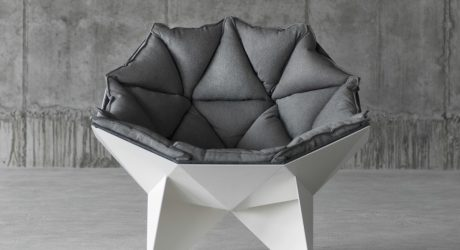 Get Cozy In the Q1 Lounge Chair by ODESD2