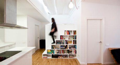 A Barcelona Apartment Gets a Renovation