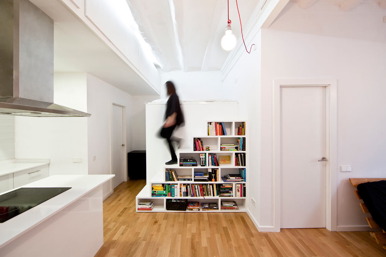 A Barcelona Apartment Gets a Renovation