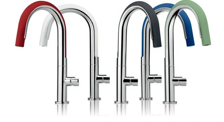 Flexible Silicone Kitchen Faucet Moves 360 Degrees