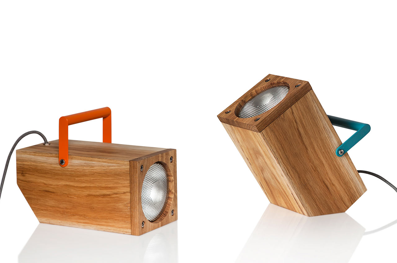 TOM: A Table Lamp Inspired by a Torch