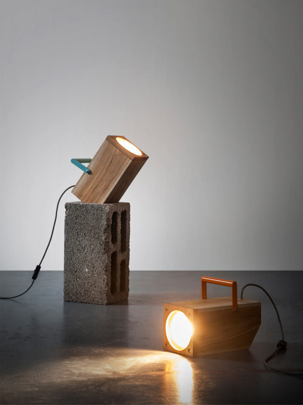 TOM: A Table Lamp Inspired by a Torch in main home furnishings  Category