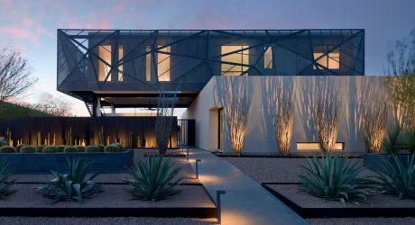 tresARCA: A Modern House in the Desert