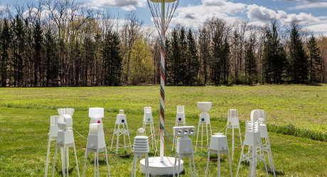 UM Project Creates Robot Lamps That Dance Around A Maypole