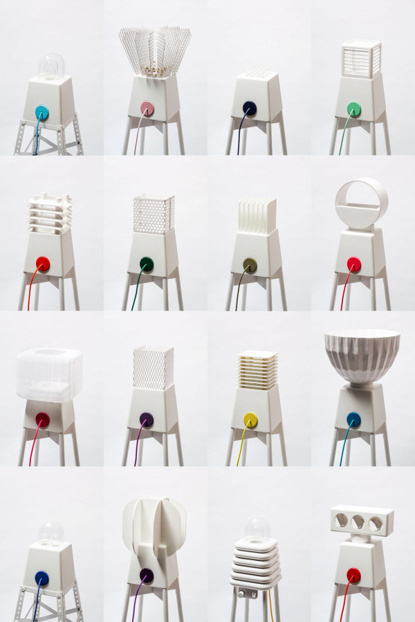 UM Project Creates Robot Lamps That Dance Around A Maypole in main home furnishings art  Category