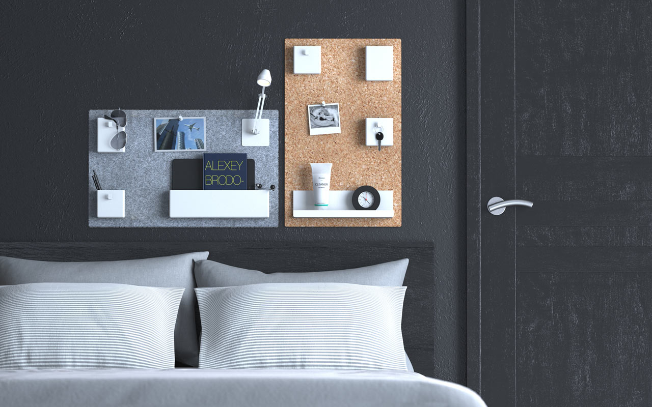 UOOK Wall Organizers by Build Republic