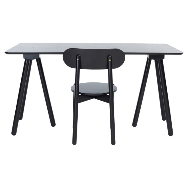 Venture Desk and Chair Black