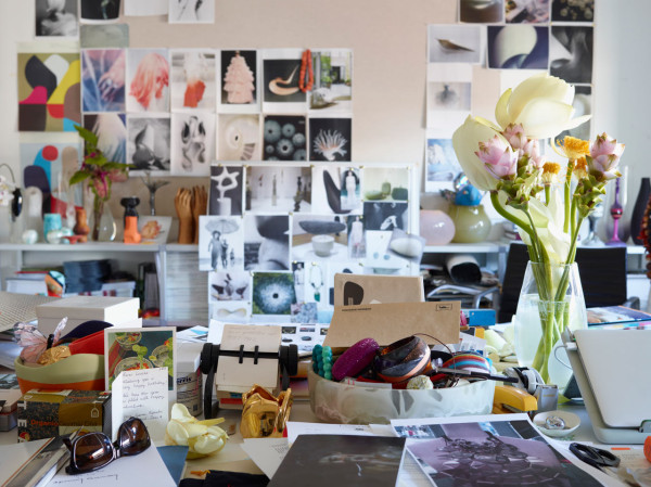 Where I Work: Louise Olsen of Dinosaur Designs in style fashion main home furnishings art  Category