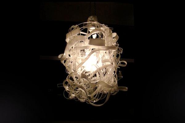 Acrylic handmade chandelier