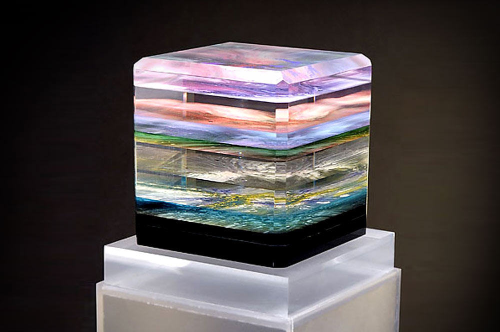 Atmosphere acrylic sculpture