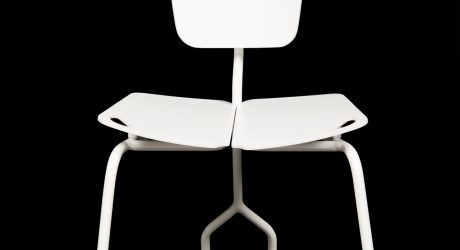 One Chair Becomes Two With A Simple Swivel