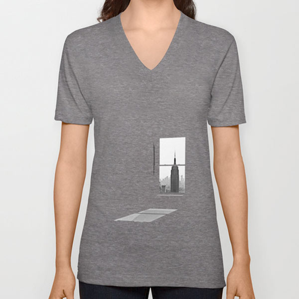 empire-window-v-neck-tee