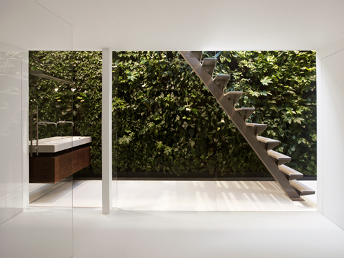 Designed by i29 Architects - more on this house and bathroom here.