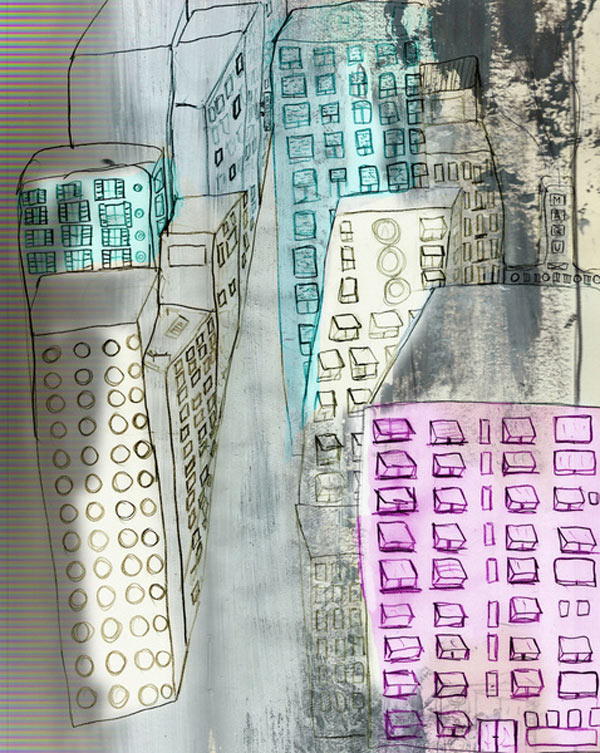 new-york-art-print-buildings