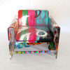 Painted acrylic chair