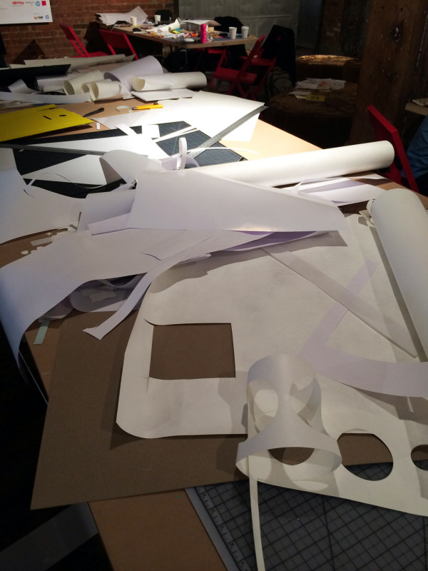 Paper, paper everywhere!