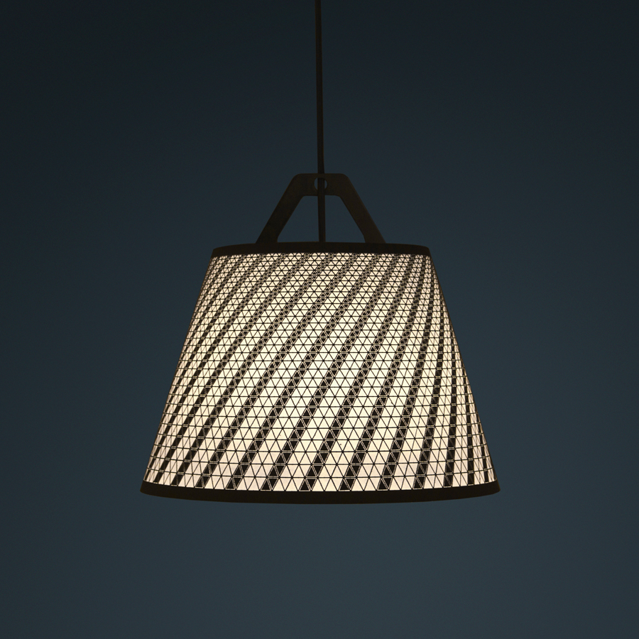 Laser Stitched Lampshades By Fifti-Fifti
