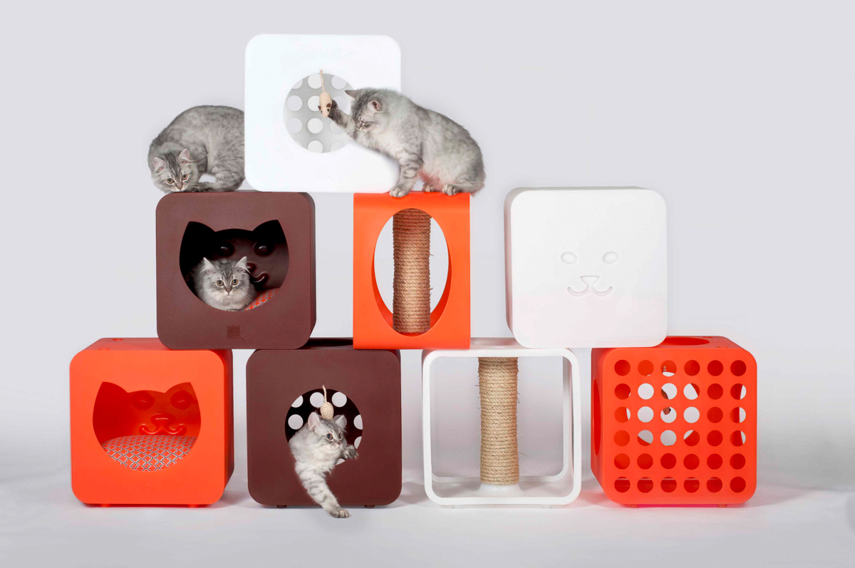 Kitty Kasa: A Full Service Housing Module for Cats