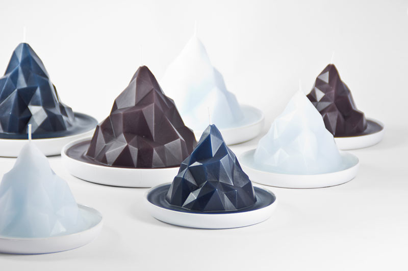 BERGY BIT: Candles that Represent Global Warming
