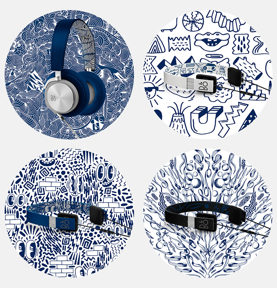 B&O PLAY x Pepsi Street Art Headphones Collection