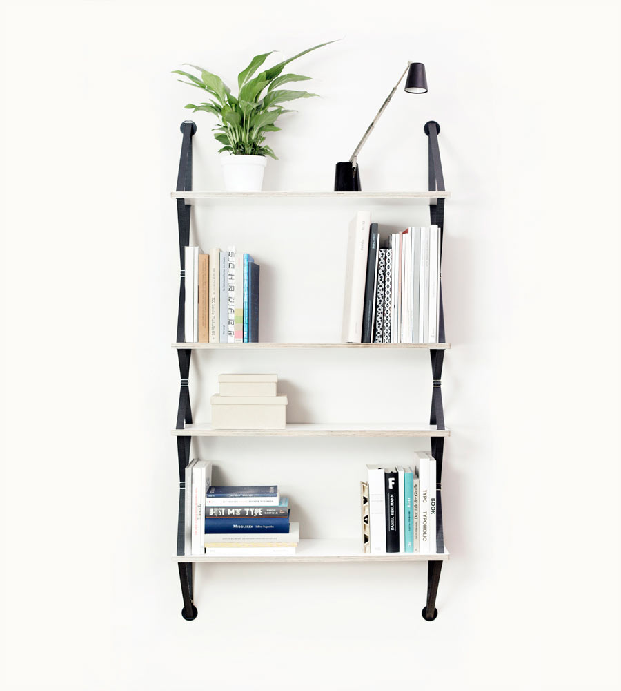 backpack modular shelving system by fifti fifti design milk. Black Bedroom Furniture Sets. Home Design Ideas