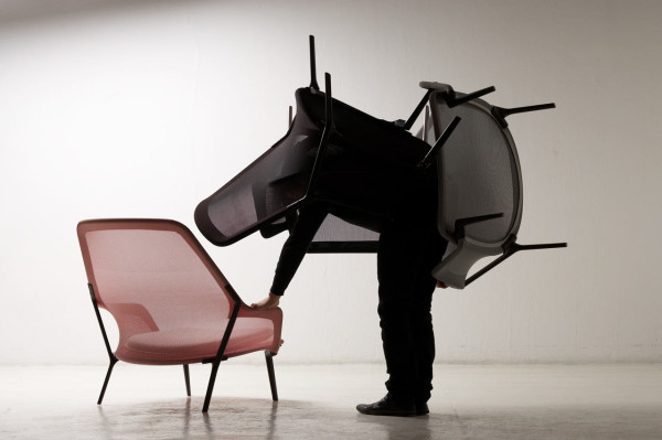 Slow Chair by Ronan & Erwan Bouroullec for Vitra in main home furnishings  Category