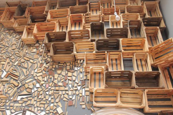 Casa Conceptos Reclaimed Wood Installation 2
