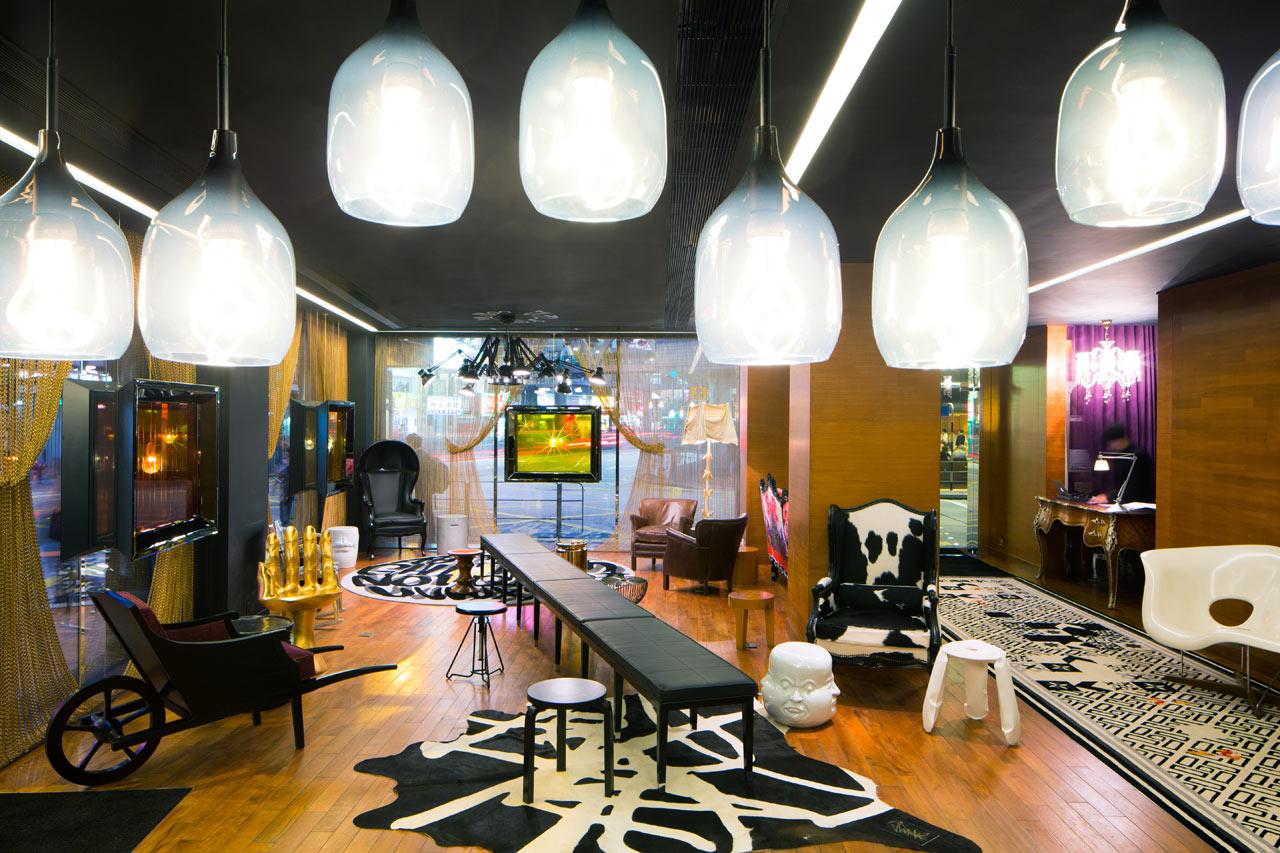 J Plus Hotel Stylishly Revitalized Interior Design Design Milk