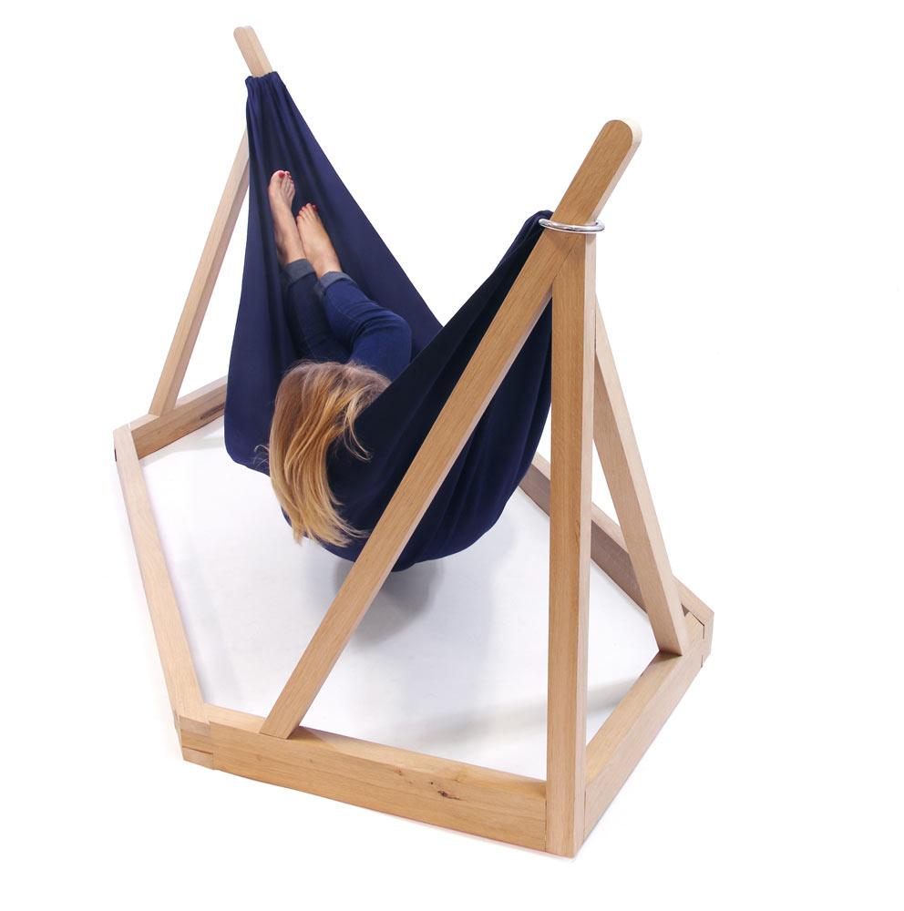 dissidence a modern hammock for rest  design milk - dissidence a modern hammock for rest