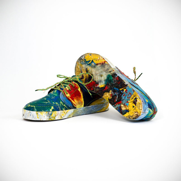 Shoes Made From Plastic Waste Found on UK Shores in style fashion main art Category