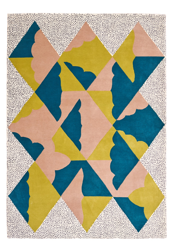 Carnival Rug Collection by Kangan Arora for FLOOR STORY in main home furnishings  Category