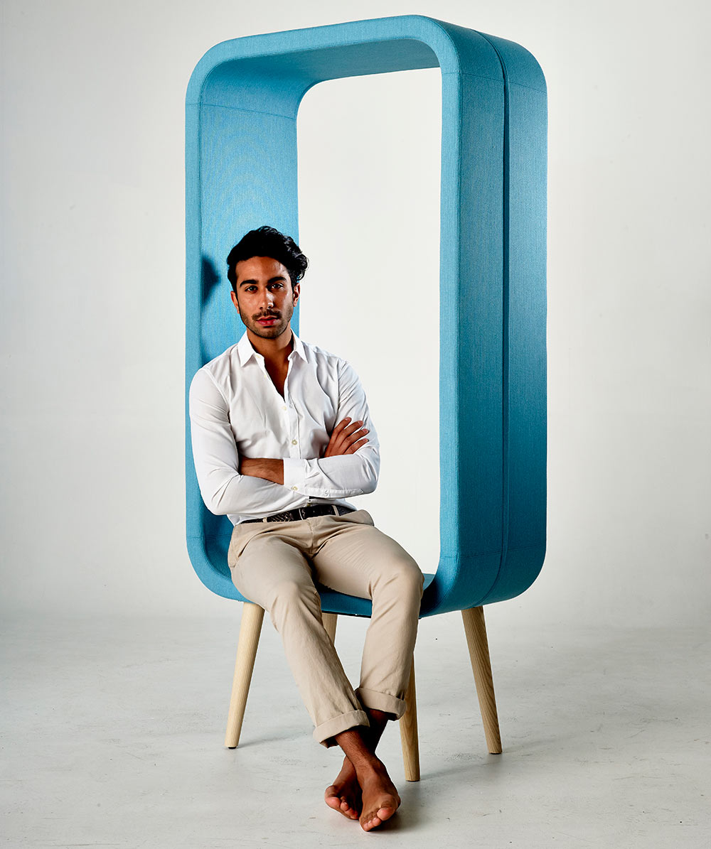 A Chair that's Like a Three-Dimensional Picture Frame