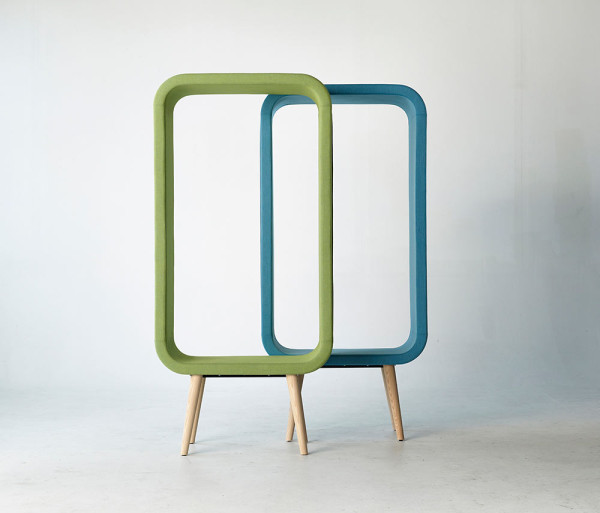 A Chair thats Like a Three Dimensional Picture Frame in main home furnishings  Category