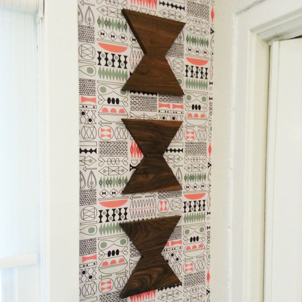 New Tiki Tok 1 Wallpaper by Jenn Ski in main interior design art  Category