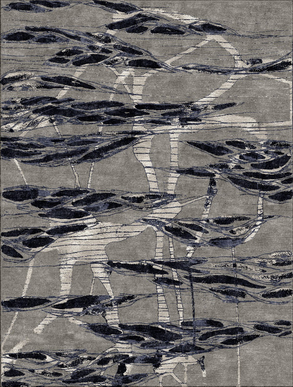 ONE LOVE Artist Designed Rug Collaboration by Woven Accents in main home furnishings  Category