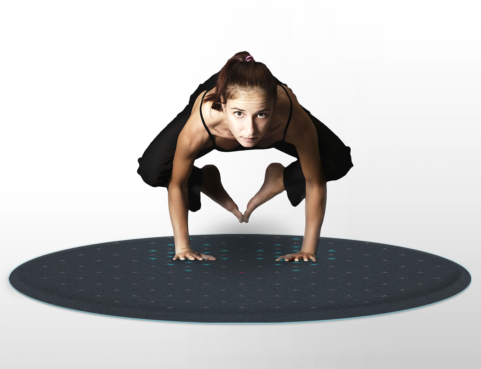 TERA: An Interactive Fitness Yoga Mat That Poses As a Rug