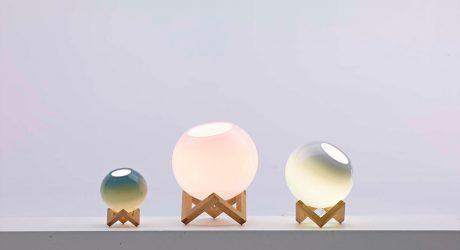 A Lamp Inspired by M.C. Escher