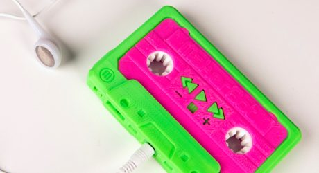 MakerBot Rewinds With Re-Release of 3D Printed Mixtape