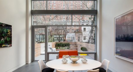 A NYC Townhouse Designed for Art Collectors