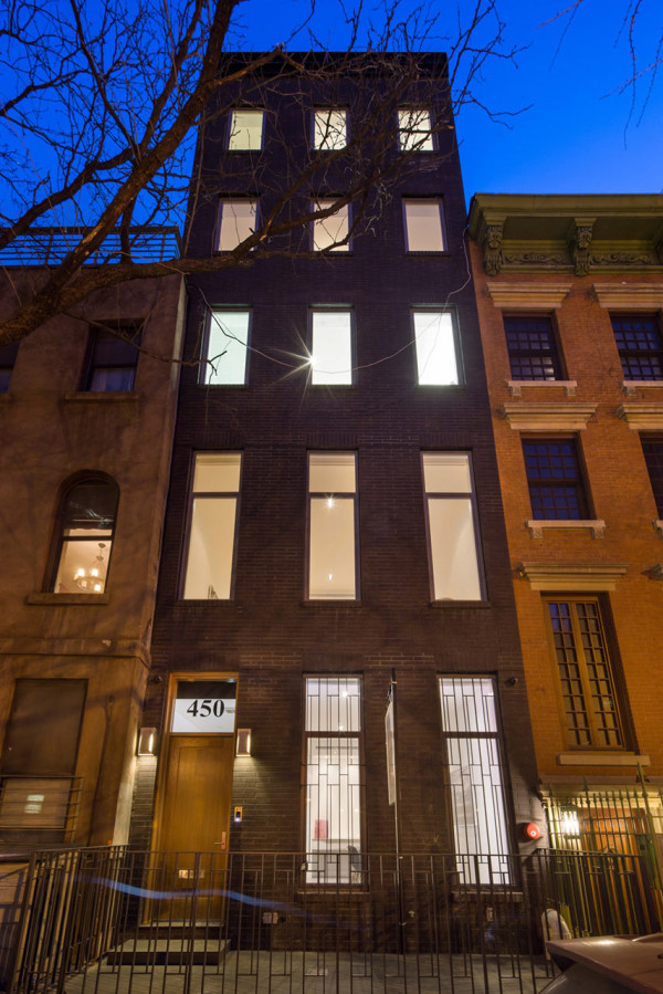 A NYC Townhouse Designed for Art Collectors in main architecture  Category