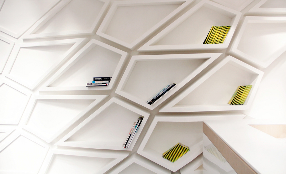 furniture architecture. helix furniture that acts as architecture j
