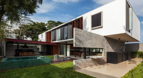 Planalto House: An Urban House with a Brazilian Vibe