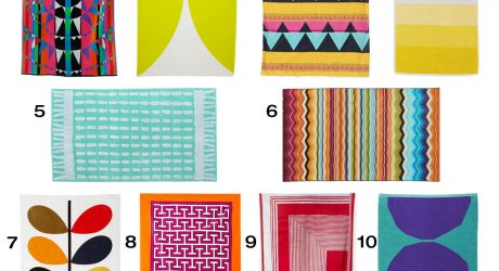 10 Colorful, Modern Beach Towels
