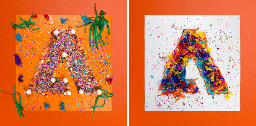 Left: Sagmeister \\\ Right: Walsh