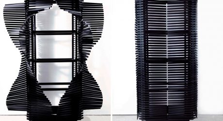 The Samurai Cabinet by Sebastian Errazuriz