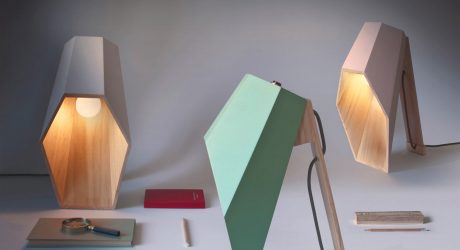 Woodspot: A Lamp with an Unusual Profile