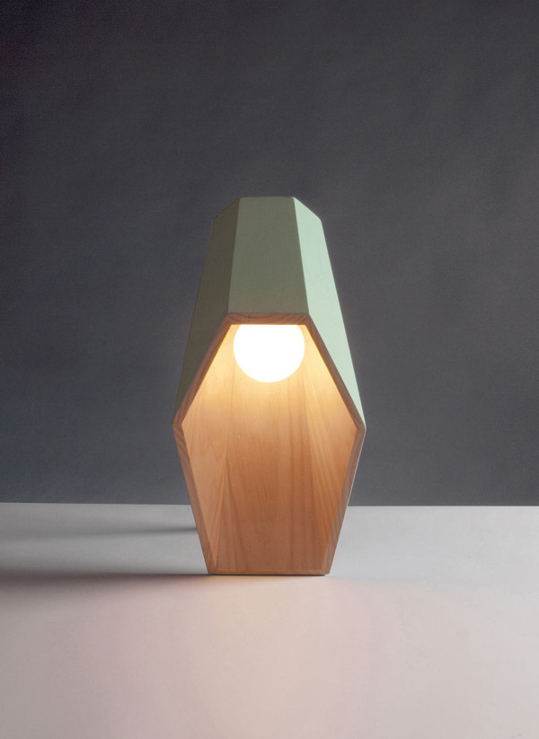 Woodspot: A Lamp with an Unusual Profile in main home furnishings  Category
