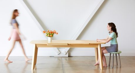 Wrap Extending Table by Debra Folz Design Studio