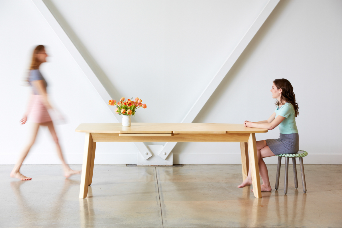 Wrap Extending Table by Debra Folz Design Studio - Design Milk