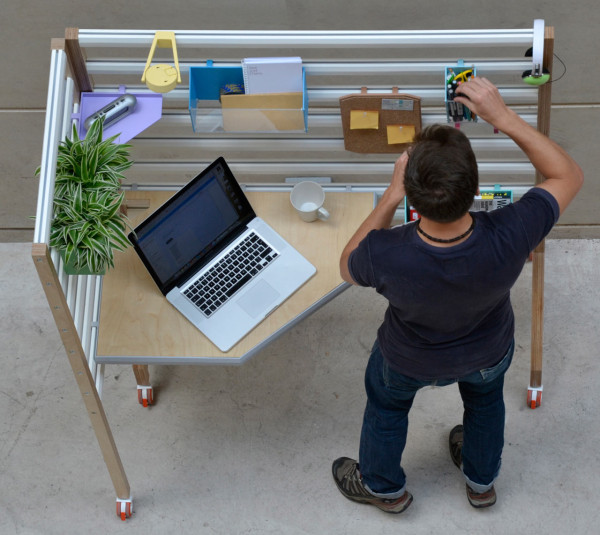 An Adjustable Workspace for the Home or Office in main home furnishings Category